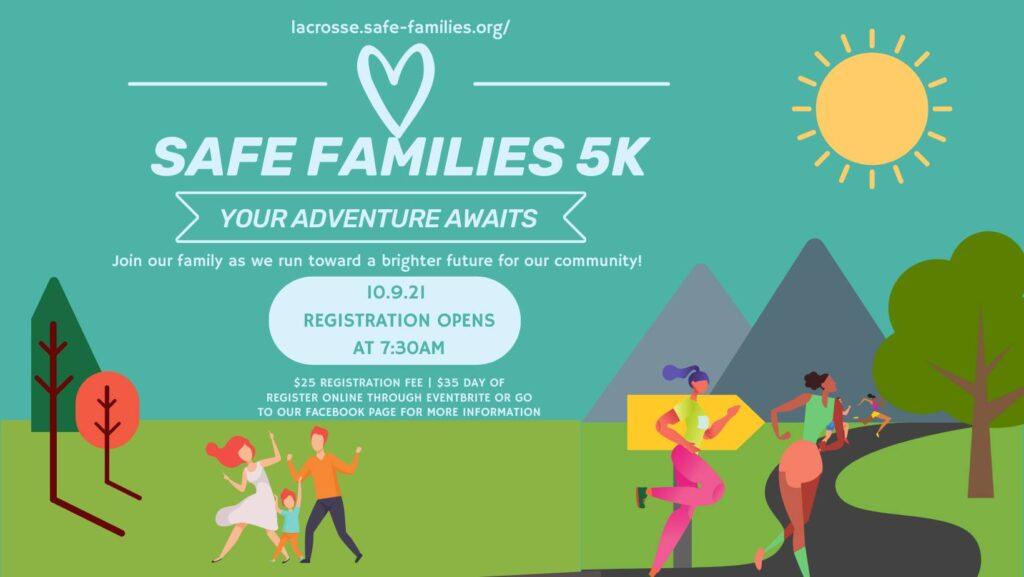 safe families 5k poster